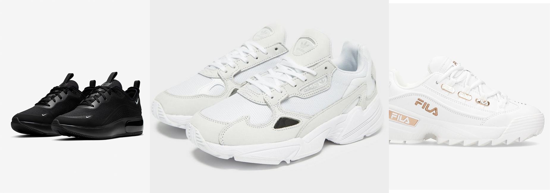 Os sneakers do momento